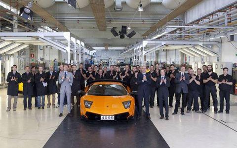 The last Lamborghini Murciélago
