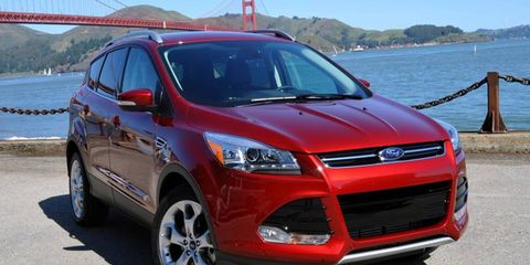 The all new 2013 Ford Escape represents a drastic change from the boxy style of the previous model.