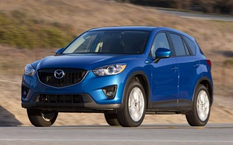 Another favorite in the small SUV crew is the all-new Mazda CX-5.