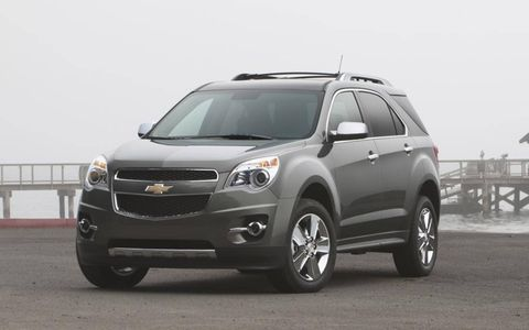 The 2013 Chevrolet Equinox is a classy small SUV choice.