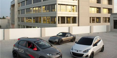 Mazda SEMA Show Cars: Two 2s and the MX-5