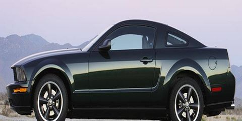 The 2008 Ford Mustang Bullitt goes on sale in January. Ford will build only 7,700 copies.