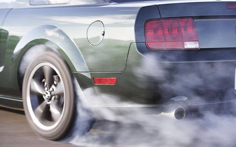 The Mustang Bullitt's 4.6-liter V8 is rated at 315 hp and 325 lb-ft of torque.