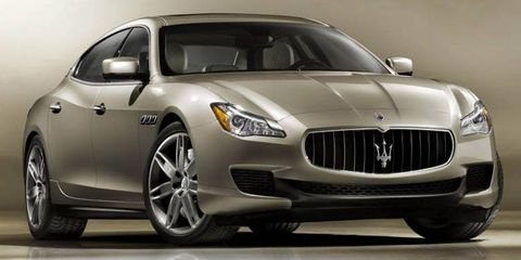 The redesigned Maserati Quattroporte debuted at the 2013 Detroit auto show in January.