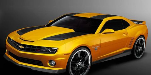 To celebrate the release of <i>Transformers: Dark of the Moon,</i> Chevrolet will build a 2012 Camaro Bumblebee Edition.