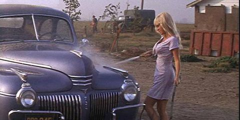 Lucille from Cool Hand Luke makes the list of Sexiest Car-Wash Scenes.