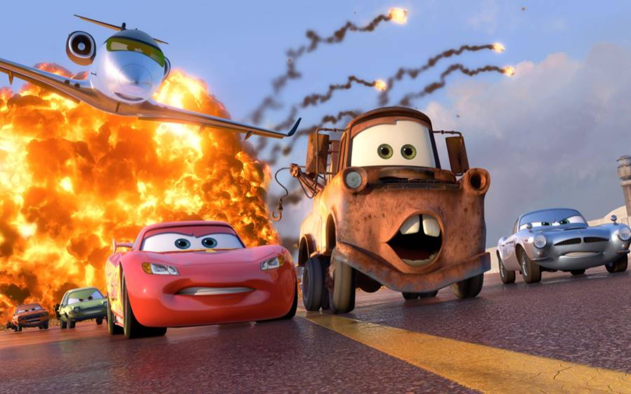 Movie Review Cars 2 Offers More Layers Than A Good Paint Job