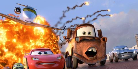 Lightning McQueen and Tow Mater team up again for <i>Cars 2</i>, which opens in theaters on Friday.
