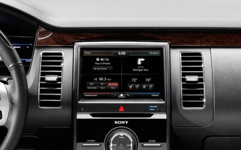 The 2013 Ford Flex will get a revised version of the controversial MyFord Touch infotainment system.