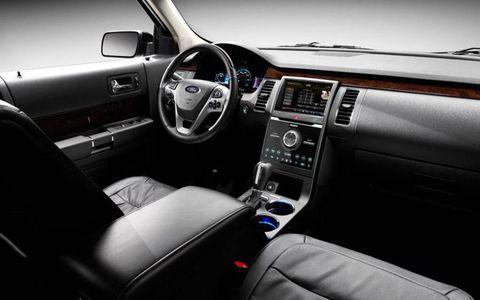 Inside the 2013 Ford Flex.