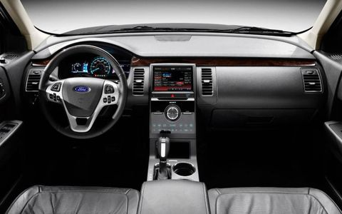 The 2013 Ford Flex will get a version of MyFord Touch as optional equipment.