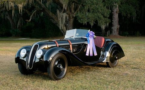 Best of Show 1937 BMW 328 Roadster