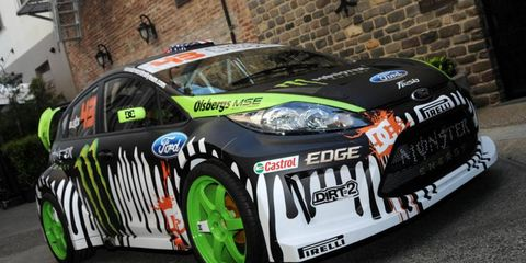 Ken Block will use the Ford Fiesta on his Gymkhana World Tour.