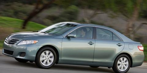The Toyota Camry is the top-selling car in the United States through the first half of this year. A redesigned model is due this fall.