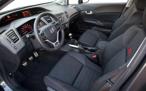 Inside, comfortable seats couldn't distract from components that felt cheap or poorly designed.