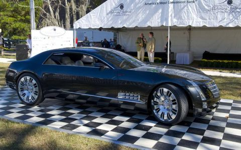 Cadillac Sixteen made an appearance at this year's Hilton Head Island Concours d'Elegance.
