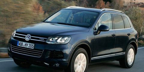The Volkswagen Touareg Hybrid gets low marks from the Union of Concerned Scientists.