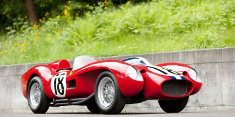 Gooding & Co. will auction a 1957 Ferrari 250 Testa Rossa Prototype, which could set the record price for a car sold at auction, during the Pebble Beach Concours d'Elegance.