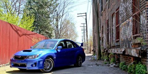 2011 Subaru WRX STI Limited Sedan