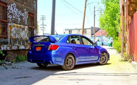 2011 Subaru WRX STI Limited Sedan