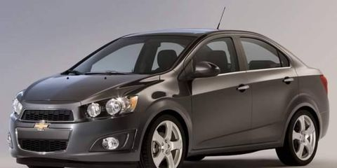 Production of the new Chevrolet Sonic began on Aug. 1 at the General Motors plant in Orion Township, Mich.