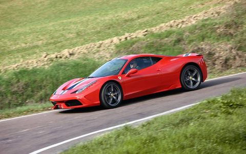 This Ferrari is the most powerful naturally aspirated V8 to date.