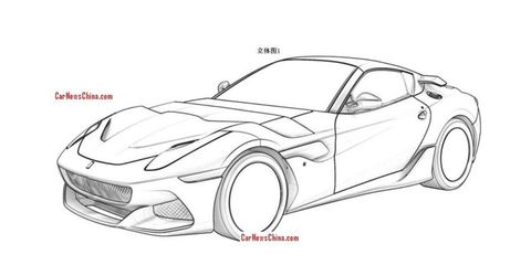 The current Ferrari F12 makes 730 hp.