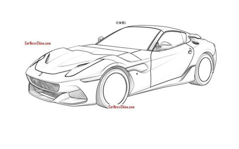 The current Ferrari F12 makes 730 hp.
