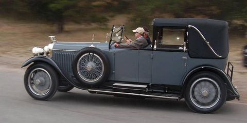 The tour is one of the highlights of the events leading up to the Pebble Beach Concours d'Elegance.