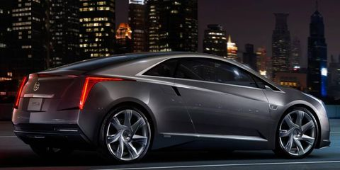 The Cadillac ELR will use a range-extender hybrid powertrain similar to the one used in the Chevrolet Volt.