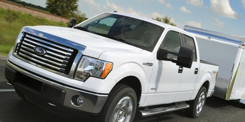 V6 engines have outsold V8s in the Ford F-150 for the past four months.