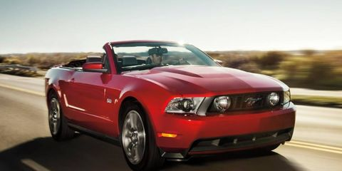 2012 Ford Mustang Gt Premium Convertible An Autoweek Drivers Log Car Review