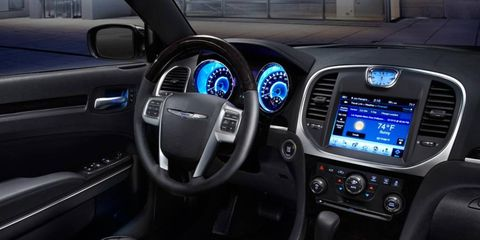 The 2012 Chrysler 300 has an improved interior.