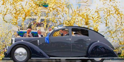 This 1934 Voisin C-25 Aerodyne was crowned Best in Show at the 2011 Pebble Beach Concours d'Elegance.