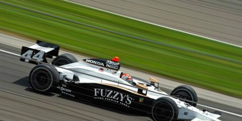 Buddy Rice will run for Panther Racing in the final two races of the IndyCar season.