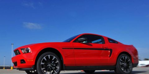 The V6-powered Ford Mustang lived up to our expectations--for the most part.