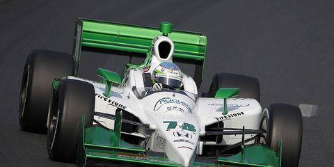 Simona De Silvestro was cleared to race in Baltimore.