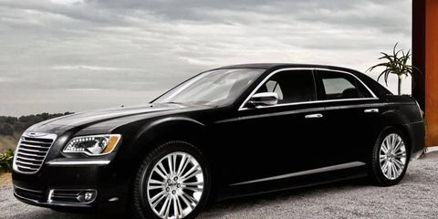 The eight-speed automatic transmission adds $1,000 to the sticker price of the 2012 Chrysler 300 sedan.