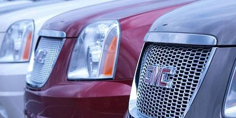 Sales of the GMC brand rose 41 percent in August from the same month a year earlier.