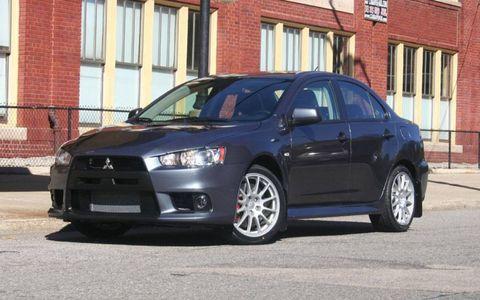 Driver's Log Gallery: 2010 Mitsubishi Evo Special Edition