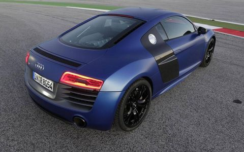 The 2014 Audi R8 goes on sale in March 2013.