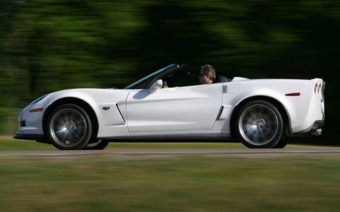 An active exhaust system maximizes the roar of the LS7 V8 tucked under the hood of the 2013 Corvette 427, adding an aural element to the driving experience.