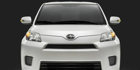 """Scion will build 800 copies of the 2012 limited-production xD, which comes exclusively in a """"Blizzard Pearl"""" color scheme."""