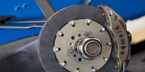 Brembo supplies brakes to various racing series, including Formula One and GP2.