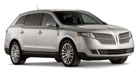 A refresh for the Lincoln MKT crossover will include a new grille design. The 2011 MKT is shown.