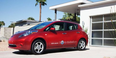 Nissan, which sells the Leaf EV, is working with General Electric to speed up the production of charging stations.