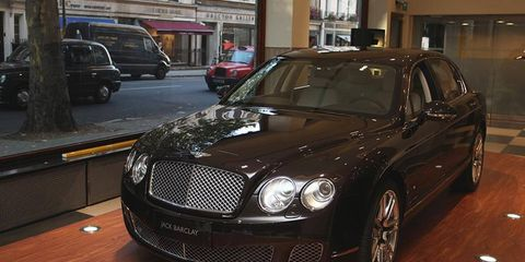 The Bentley Continental Flying Spur gets custom treatment from Linley.