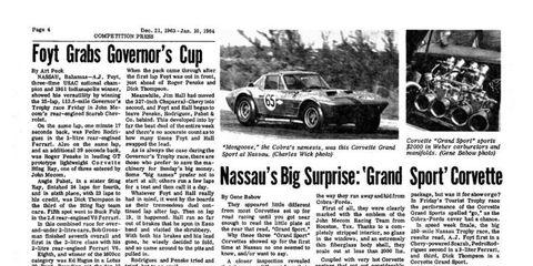 Autoweek Archives for Sept. 30 includes the Corvette Grand Sport.