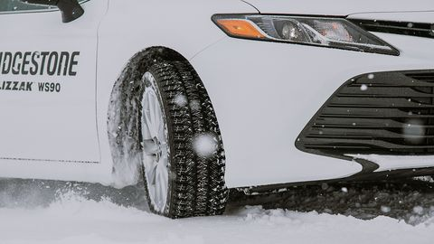 The new Bridgestone WS90 offers extra life without sacrificing the winter grip of its Blizzak tire series.