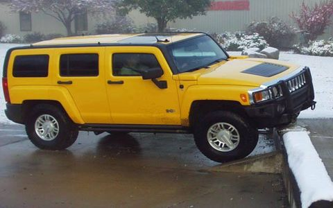 Most driving schools give students ample track time to learn the capabilities and limits of fine sports cars. The Hummer Driving Academy, operated by AM General at its South Bend, Indiana, headquarters, does the same thing for its students, though track time here is off-track and in the woods.